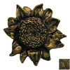 Anne at Home Gardening and Flowers Rubbed Bronze Novelty Cabinet Knob