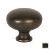 Lew's Hardware Metal Mushroom Oil-Rubbed Bronze Round Cabinet Knob