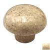Cal Crystal Beige Marble Mushroom Cabinet Knob