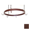 Grace Collection 20-in x 20-in Aged Iron Round Pot Rack