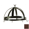 Grace Collection 20-in x 20-in Aged Iron Dome Pot Rack
