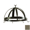 Grace Collection 20-in x 20-in Antique Bronze Dome Pot Rack