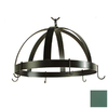 Grace Collection 20-in x 20-in Jade Teal Dome Pot Rack