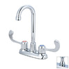 Pioneer Industries Legacy Polished Chrome 2-Handle Bar Faucet
