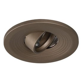 Galaxy Bronze Gimbal Recessed Light Trim (Fits Housing Diameter: 4-in)