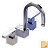 Paul Decorative Products Custom Line Satin Gold 2-Handle Bar Faucet