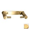 Paul Decorative Products Greenwich Satin Gold Surface Mount Toilet Paper Holder