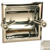 Paul Decorative Products Paul Classics Polished Nickel Recessed Toilet Paper Holder