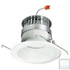 Nora Lighting 5-in White Open Recessed Lighting Trim