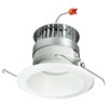 Nora Lighting 5-in Natural Metal Open Recessed Lighting Trim