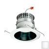 Nora Lighting 6-in White Open Recessed Lighting Trim
