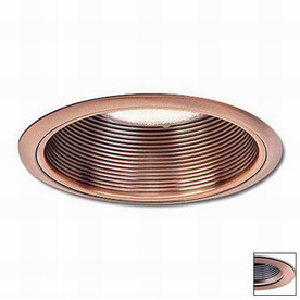 Shop Nora Lighting Copper Baffle Recessed Light Trim Fits