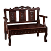 Southern Enterprises Mahogany Entryway Bench