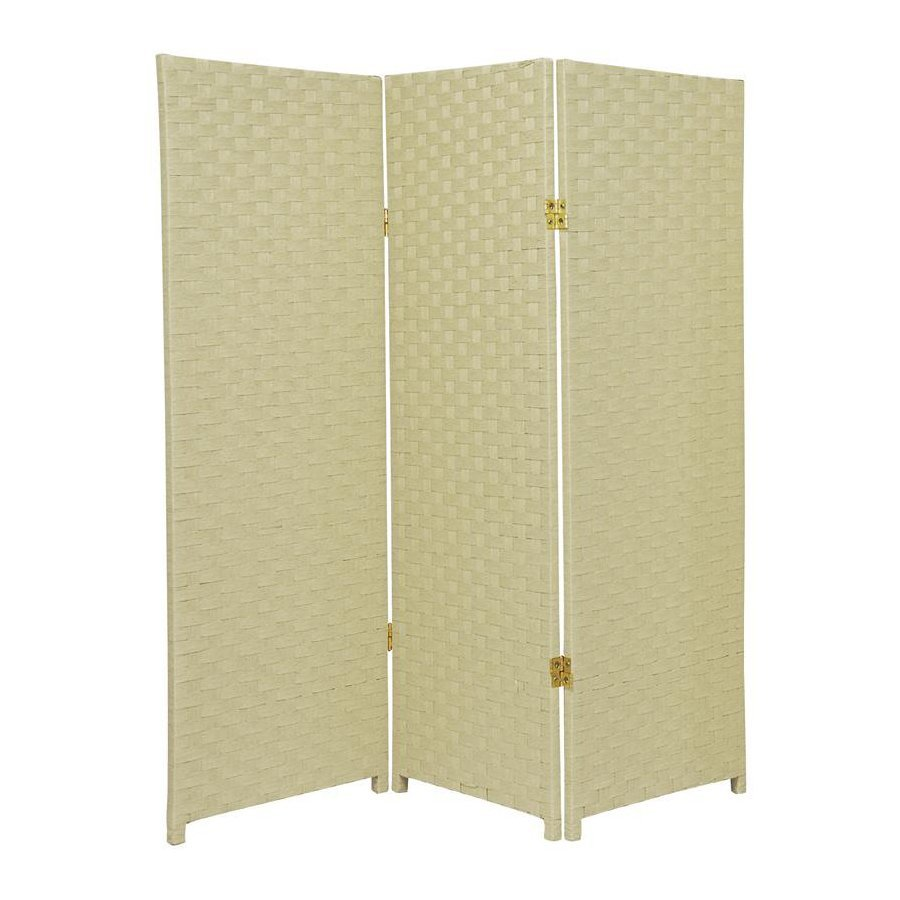shop furniture room dividers 3 panel folding indoor privacy screen at lowes