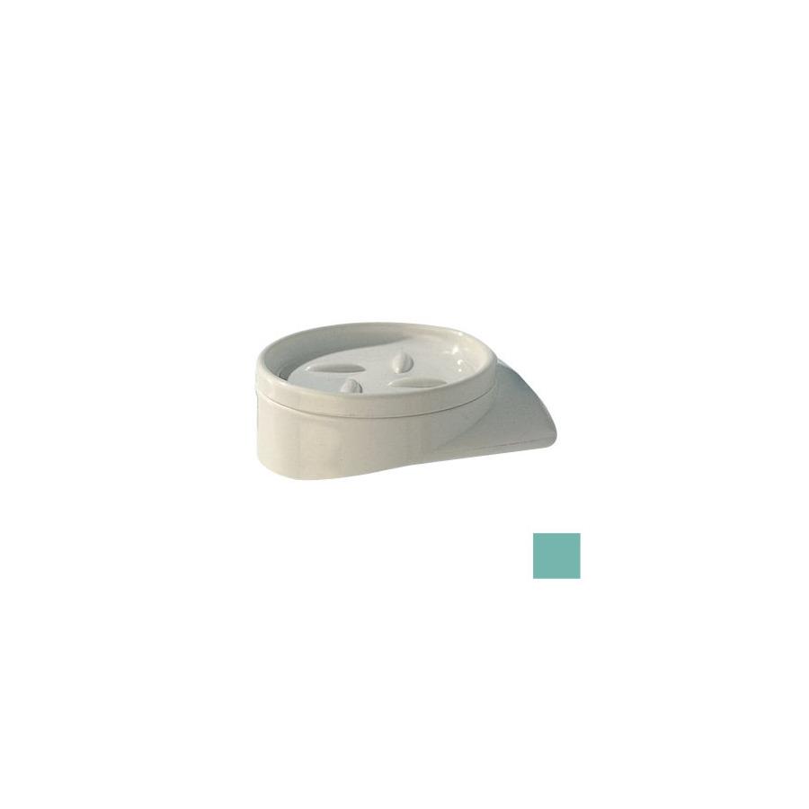 Ponte Giulio USA Accessories Glossy Light Green Plastic Soap Dish