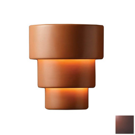 Terracotta wall lights
