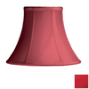 Cascadia Lighting 8-in x 11-in Red Bell Lamp Shade