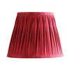 Cascadia Lighting 8-in x 10-1/2-in Red Drum Lamp Shade