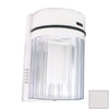 Lights of America 10-in White Outdoor Wall Light