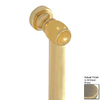 Paul Decorative Products 18-in Antique Brass Wall Mount Grab Bar