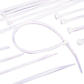 Morris Products 100-Pack 6-1/2-in Nylon Cable Tie