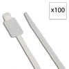 Morris Products 100-Pack 10-5/8-in Nylon Cable Tie