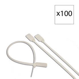 Morris Products 100-Pack 15-3/4-in Nylon Cable Tie