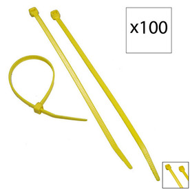 Morris Products 100-Pack 8-in Nylon Cable Tie