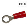 Morris Products 19-Amp 600-Volt Red 1-Wire Connector