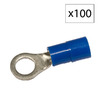 Morris Products 27-Amp 600-Volt Blue 1-Wire Connector