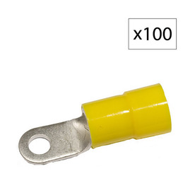 Morris Products 115-Amp 600-Volt Yellow 1-Wire Connector