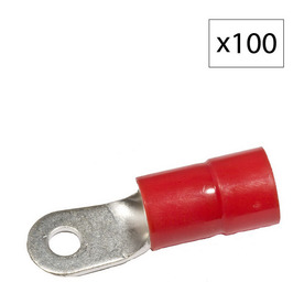 Morris Products 160-Amp 600-Volt Red 1-Wire Connector