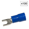 Morris Products 88-Amp 600-Volt Blue 1-Wire Connector