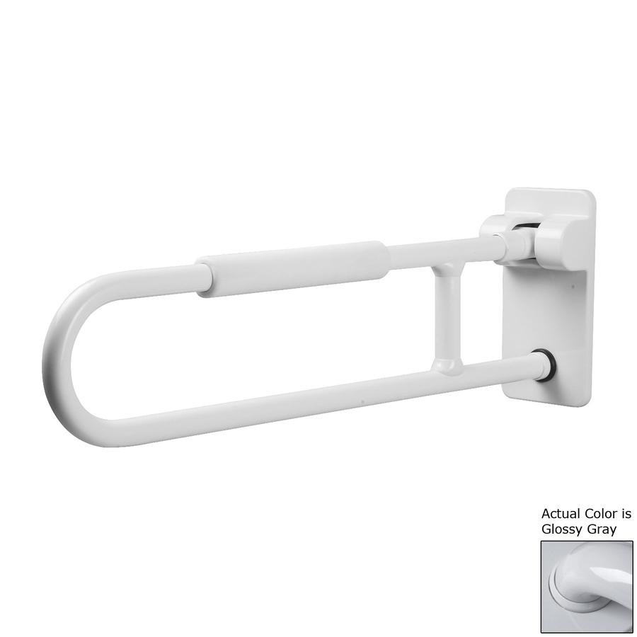 Ponte Giulio USA Glossy Gray Wall Mount Folding Grab Bar