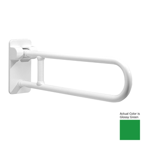 Ponte Giulio USA 33.5-in Glossy Green Wall Mount Grab Bar