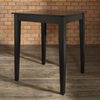 Crosley Furniture Black Square Dining Table
