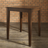 Crosley Furniture Vintage Mahogany Square Dining Table