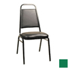 Alston Quality Industries Kelly Green Stackable Accent Chair