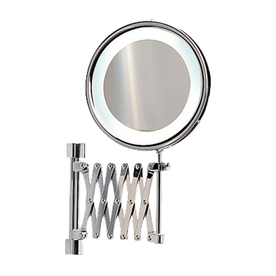 Shop Nameeks Windisch Chromed Brass 3x Magnifying Retractable Wall Mounted Va