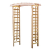 All Things Cedar 45-in W x 86-in H Finely Sanded Pergola Garden Arbor