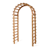 All Things Cedar 47-in W x 90-in H Finely Sanded Arch Garden Arbor
