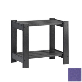 Siesta Furniture Simply Siesta 19.5-in x 14-in Purple Rectangle Patio End Table