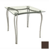 Trica Angelica Chocolate Square Dining Table