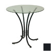 Trica Erika Black Round Dining Table