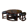 Homelegance Brussel Espresso Round Coffee Table