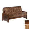 Night & Day Furniture Premium Natural and Black Walnut Futon