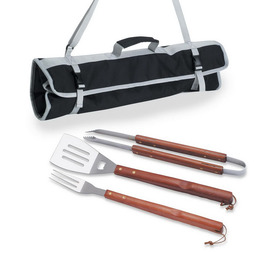 Picnic Time 3-Piece BBQ Grilling Tool Set