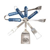 BSI Products 4-Piece Penn State Nittany Lions BBQ Grilling Tool Set