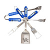 BSI Products 4-Piece Kentucky Wildcats BBQ Grilling Tool Set