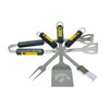 BSI Products 4-Piece Iowa Hawkeyes BBQ Grilling Tool Set